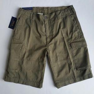 NEW Men Polo Ralph Lauren Cargo Shorts Olive Green